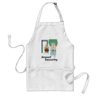 Security Check Adult Apron