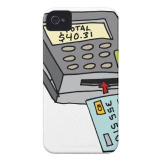 Security Chip Credit Card Machine iPhone 4 Case