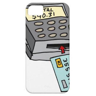 Security Chip Credit Card Machine iPhone SE/5/5s Case