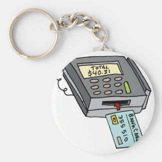 Security Chip Credit Card Machine Keychain