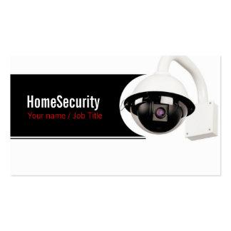 Security company tarjetas de visita