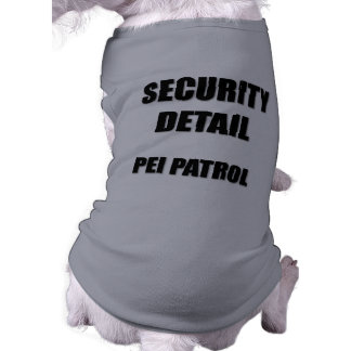 Security Detail  Pei Patrol Tee
