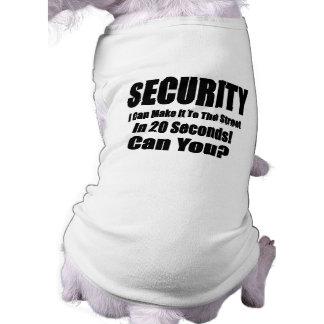 Security Dog Tee Shirt