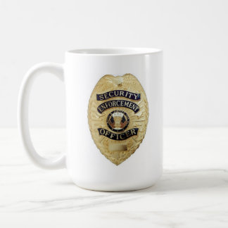 Security Enforcement Officer Coffee Cup Mugs