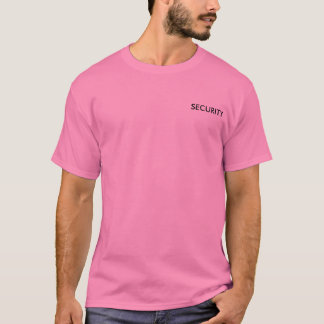 SECURITY FOR BACHELORETTE T-Shirt