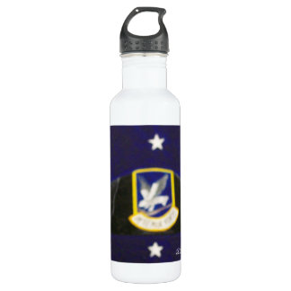 Security Forces Beret Stainless Steel Water Bottle