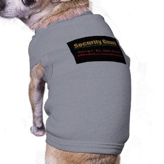 Security Guard Pet T-shirt