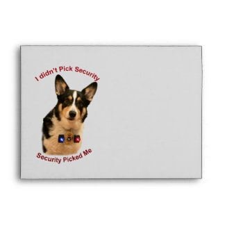 Security Guard Envelope