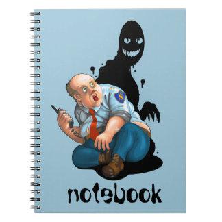 security guard notebook