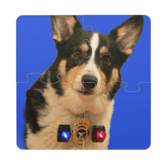 Security Guard Puzzle Coaster