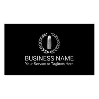 security guard business cards templates zazzle. Black Bedroom Furniture Sets. Home Design Ideas