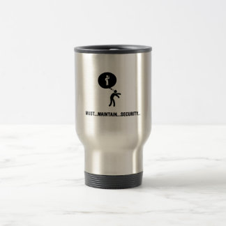 Security Guard Travel Mug