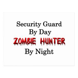 Security Guard/Zombie Hunter Postcard