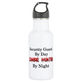 Security Guard/Zombie Hunter Stainless Steel Water Bottle