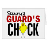 Security Guard's Chick Card