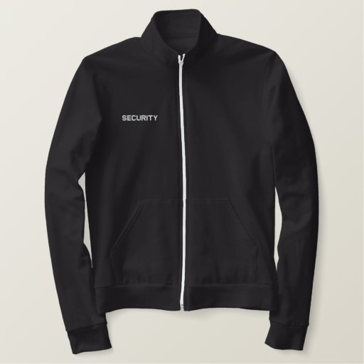 Security Jacket Embroidered