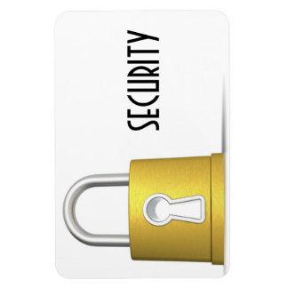 Security magnat pad vinyl magnets