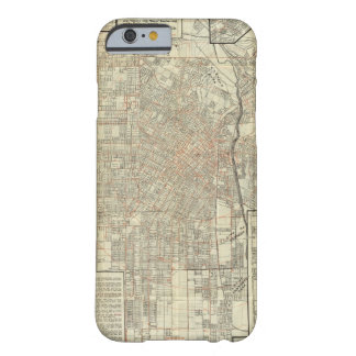 Security map and Street Railways in Los Angeles Barely There iPhone 6 Case