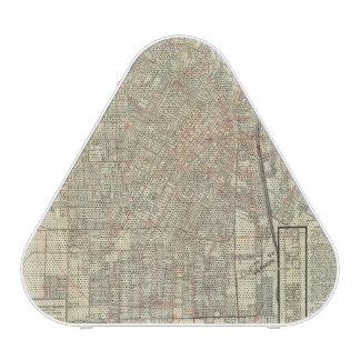 Security map and Street Railways in Los Angeles Speaker
