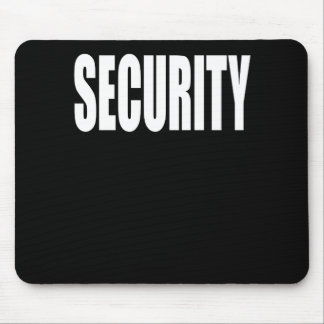 Security Mouse Pad