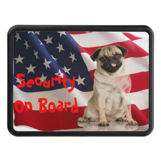 Security On Board Trailer Hitch Cover