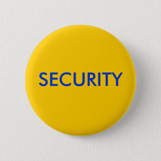 SECURITY PINBACK BUTTON
