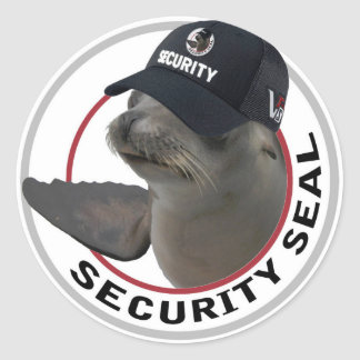 Security seal sticker