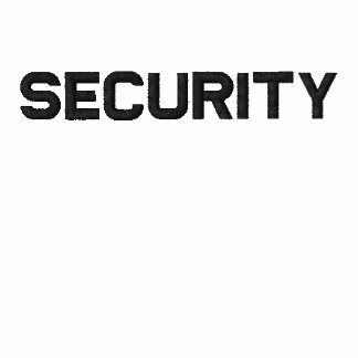 Security Shirt Embroidered