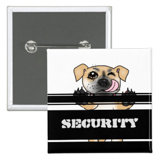 SECURITY Square Button