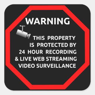 Security Sticker for Windows Help Prevent Breakins