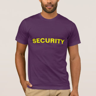 Security Tee--official looking T-Shirt