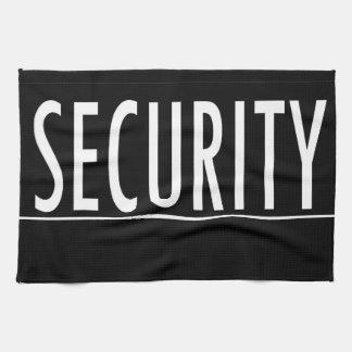 security text message job protect bodyguard towel