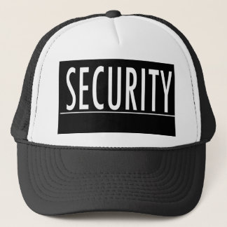 security text message job protect bodyguard trucker hat
