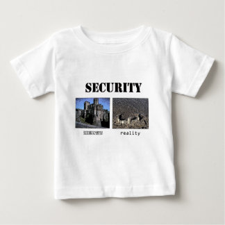 Security Theory and Reality Baby T-Shirt