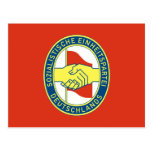 Sed, Colombia Political flag Postcard