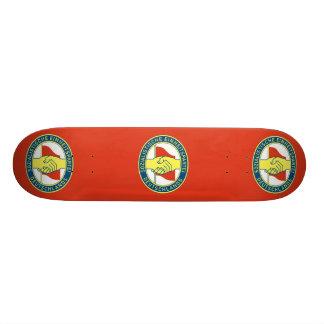 Sed, Colombia Political flag Skateboard Decks