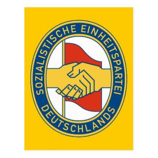 SED de Deutschland - fiesta de trabajador Postal