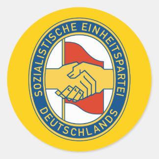 SED de Deutschland - fiesta de trabajador socialis Etiquetas