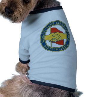 SED de Deutschland - fiesta de trabajador socialis Camisetas De Perro