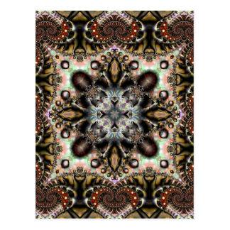 Seda 10 del fractal tarjeta postal