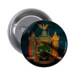 Seda de la bandera de Nueva York Pin