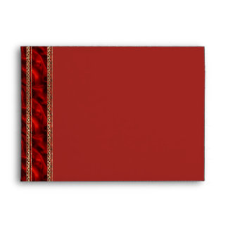 Seda del rojo de Triquetra Sobres