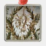 Seda mural del dormitorio de las emperatrices, 178 ornaments para arbol de navidad