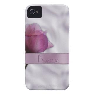 Seda y caja color de rosa del iPhone 4 iPhone 4 Case-Mate Protector
