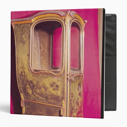 Sedan Chair Vinyl Binders