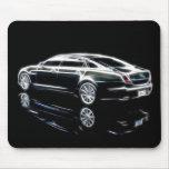 Sedán de lujo de Jaguar XJ Mousepad 2011