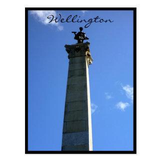 seddon del monumento de Wellington Tarjetas Postales