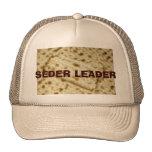 SEDER LEADER  PASSOVER  MATZAH HAT