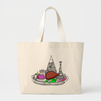 Seder Plate Canvas Bags