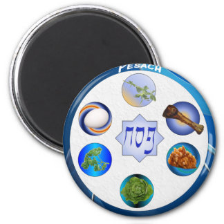 Seder Plate Fridge Magnets